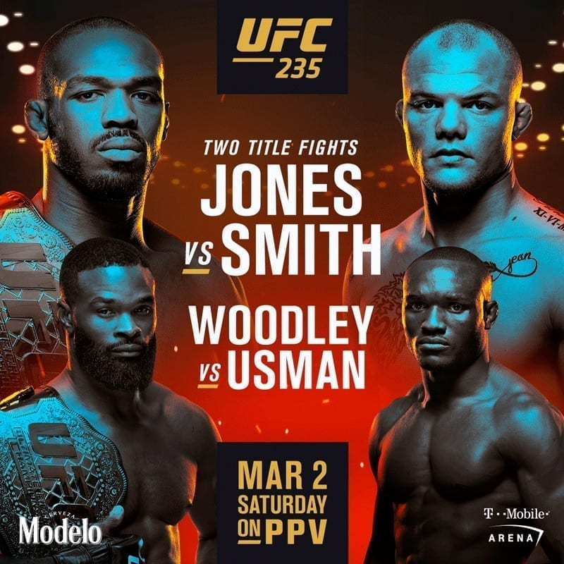 watch UFC 235 with absolutely no cover at The Sportsbook