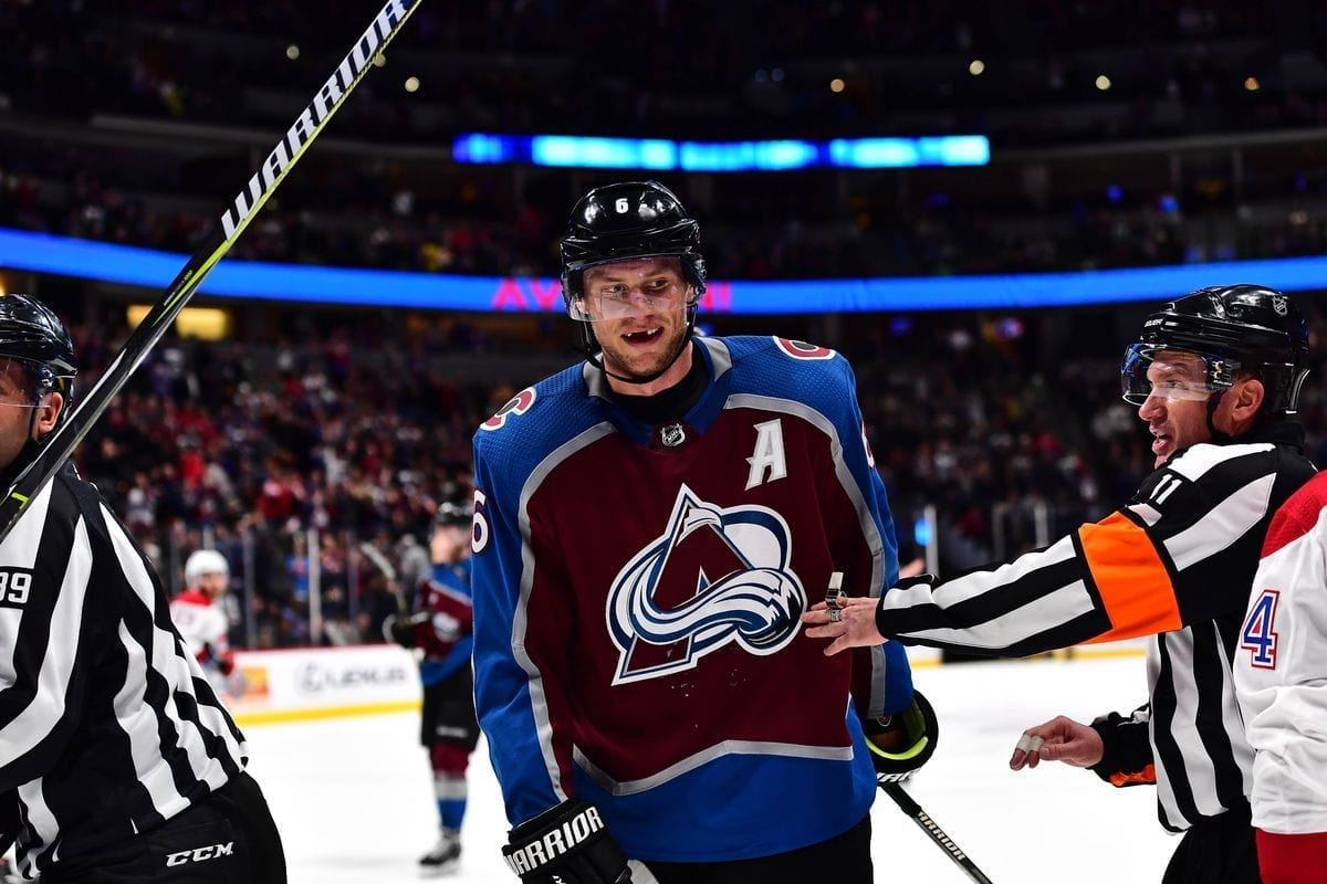 watch the Colorado Avalanche at The Sportsbook
