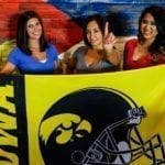 Watch college football at The Sportsbook Iowa Hawkeyes