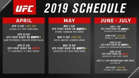 UFC Schedule The Sportsbook bar and grill dtc and wash park