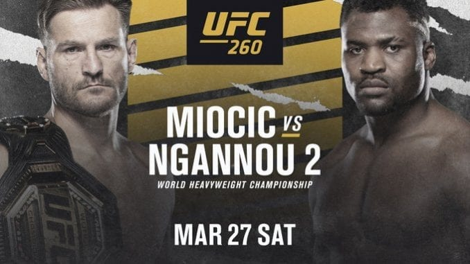 Watch UFC 260 at The Sportsbook DTC Wash Park